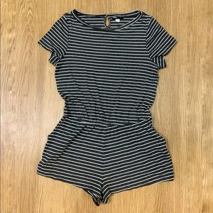 Urban Outfitters BDG Striped Romper